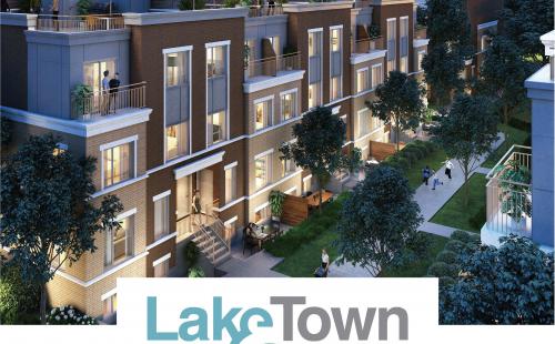 Lake & Town
